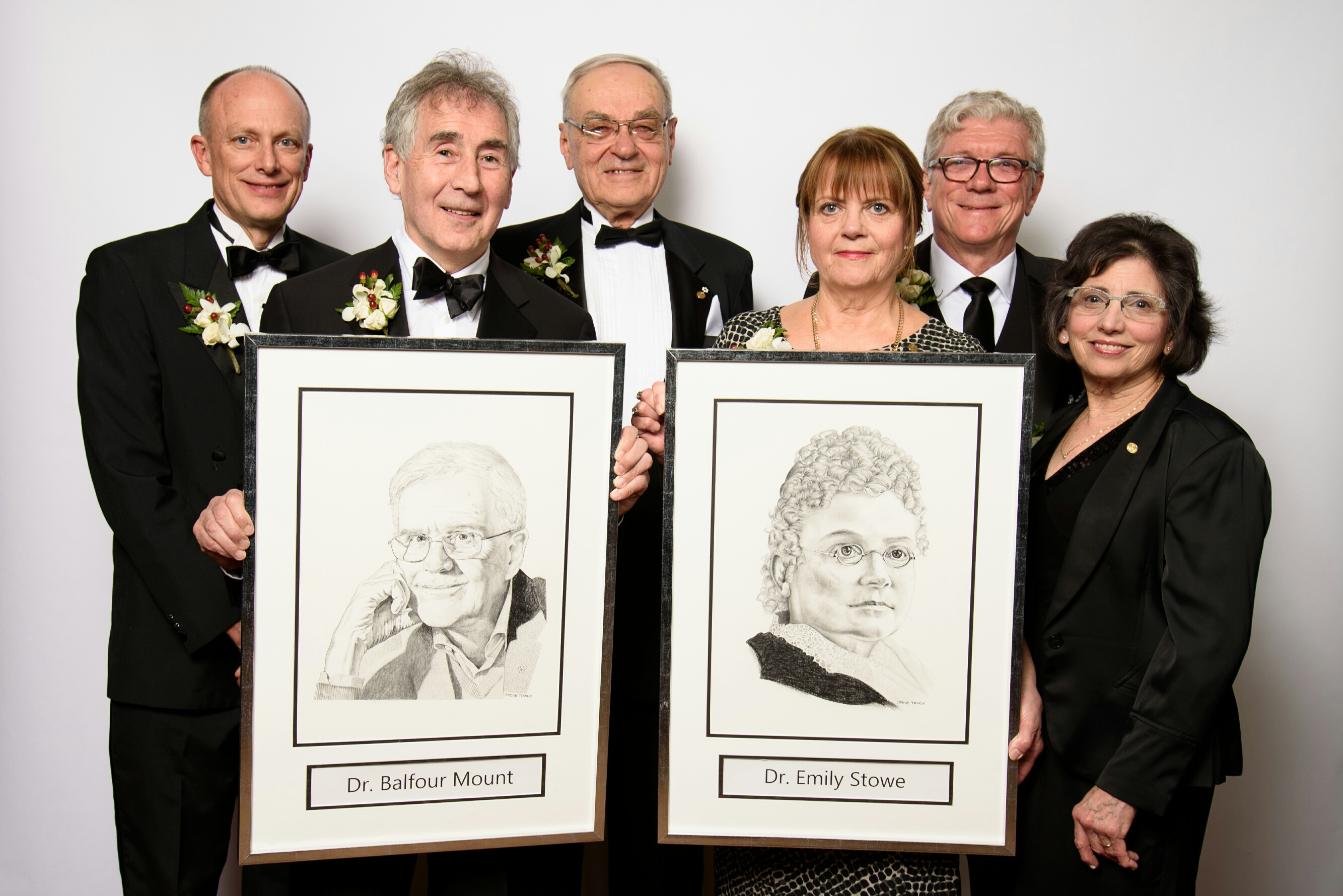 Balfour Mount portrait with 2018 Inductees