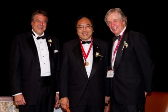 Photo of Lap-Chee Tsui at Induction