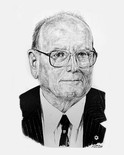 Sketch of Ernest McCulloch