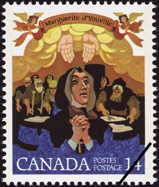 M. d'Youville stamp