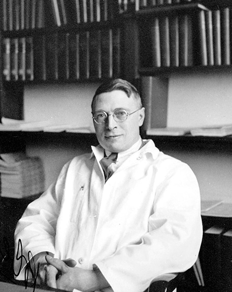 Picture of James Collip, MD PhD