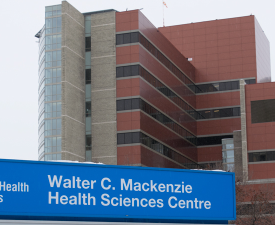 Picture of the Walter C. Mackenzie Health Sciences Centre