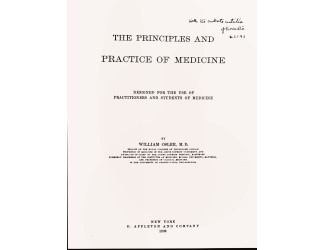 The Principles and Practice of Medicine textbook
