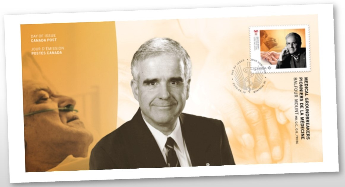 Canada Post Stamp of Dr. Balfour Mount